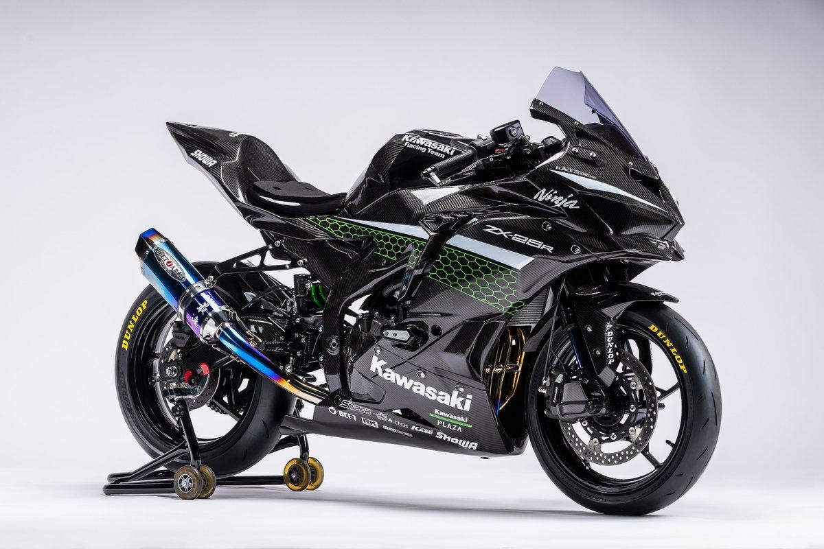 今秋導入予定の「Ninja ZX-25R」をレースイメージにカスタムした車両を公開いたします。また、モーターサイクルライフを楽しんで頂く施策の一環として、2021年より「Ninja ZX-25R」の国内ワンメイクレース開催を計画しております。楽しみにしてください!#Kawasaki #Ninja #zx25r