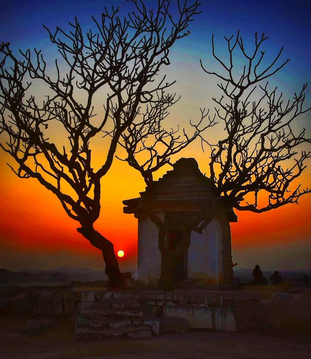 Hampi was originally called Pampa-Kshetra after Hindu Deity Pampa (another name of Goddess Parvati).   It is believed in Hindu mythology that Goddess Parvati led the life of a yogini in the Hemkunta hills of Hampi, to convince Shiva to marry her.   #CliosChronicles