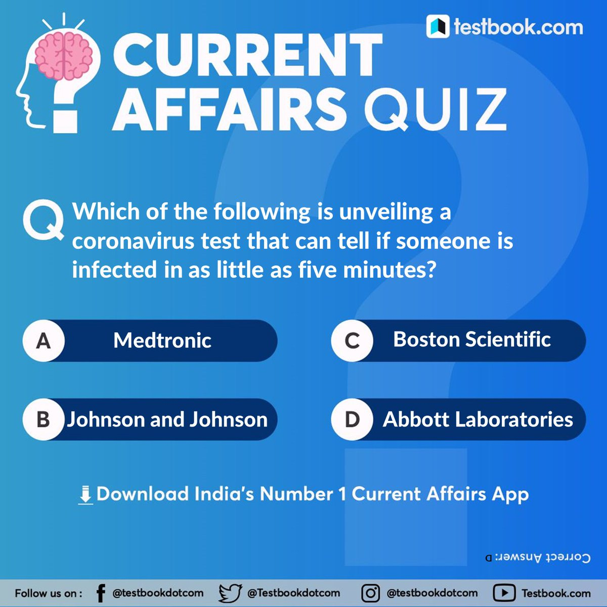 Comment the correct option!! #Quiz #CurrentAffairs #CurrentAffairsQuiz #QuestionOfTheDay #DailyQuiz #QuizTime #gkpic.twitter.com/WG0q509Mdw