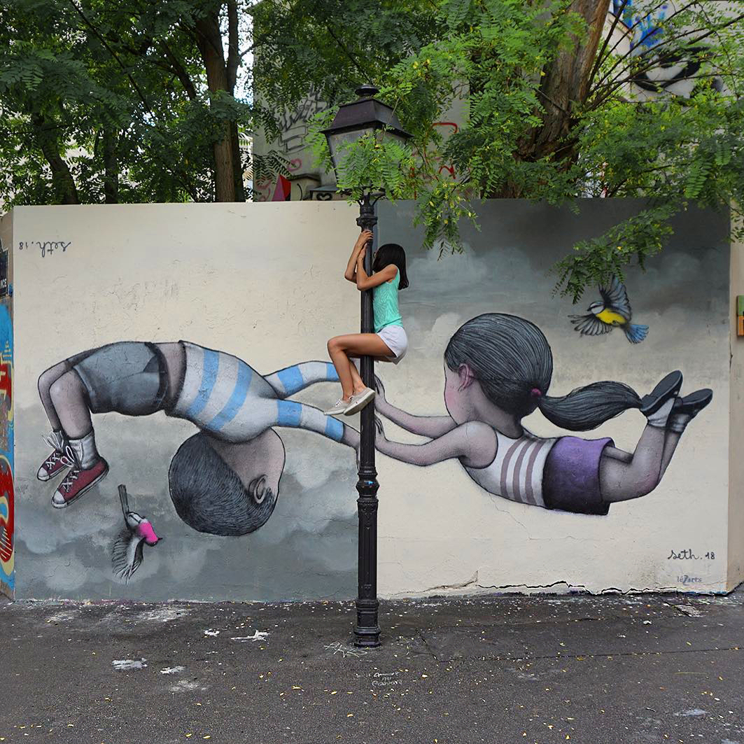 #streetart #mural #urbanart By Seth-Globepainter in Paris 13th, France. pic.twitter.com/ArSJOMiG30