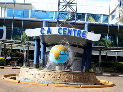 The Communications Authority of Kenya head office in Nairobi.