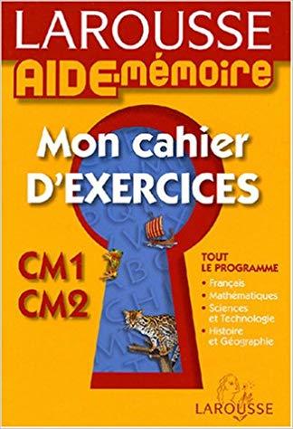 Mon Cahier D Exercices Cm1 Cm2 Pdf Gratuit Telecharger Livre Libre