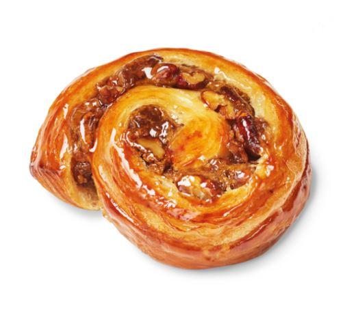 Mini Rollito de nueces y caramelo👇  Receta original en la que la crema pastelera con caramelo✔ se encuentra con el crujiente sonido de las nueces✔Muy rico, verdad...😋  #hostelería #panadería #pastelería #bollería #postres #pan #gourmet #hosteleríaprofesional  #repostería