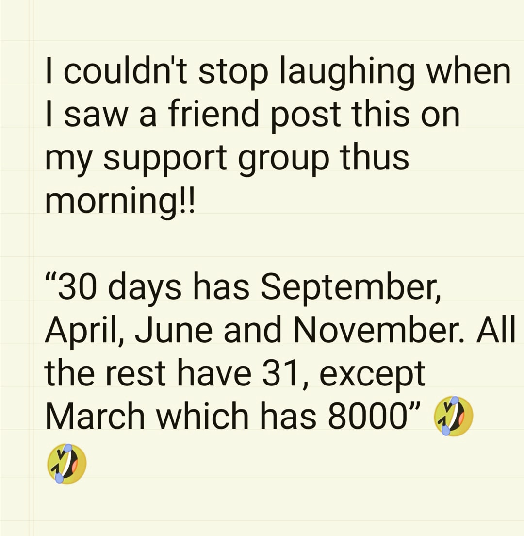 Those that know me know I used to post a daily joke (some say they were crap) so I had this posted on my support group, and just had to share it !! . #joke #jokeoftheday #funny #instafun #comedy #instacomedy #jokes #haha #lol #hehepic.twitter.com/QcQ1vIjdrW