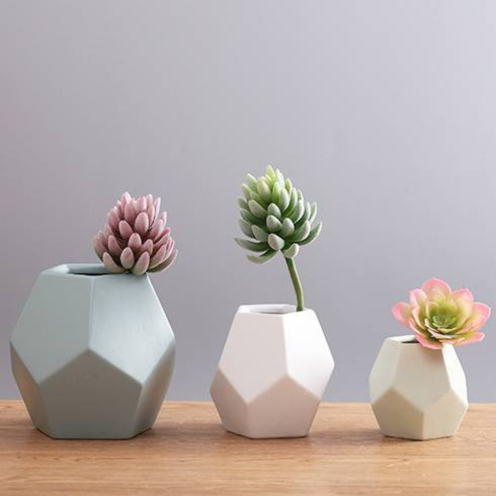 Tag a friend who would love this!?? Geometric Nordic Style Ceramic Vase  Get it here---> 70.00 #kidsclothingresale #fitnessapparels #jewelrystore
