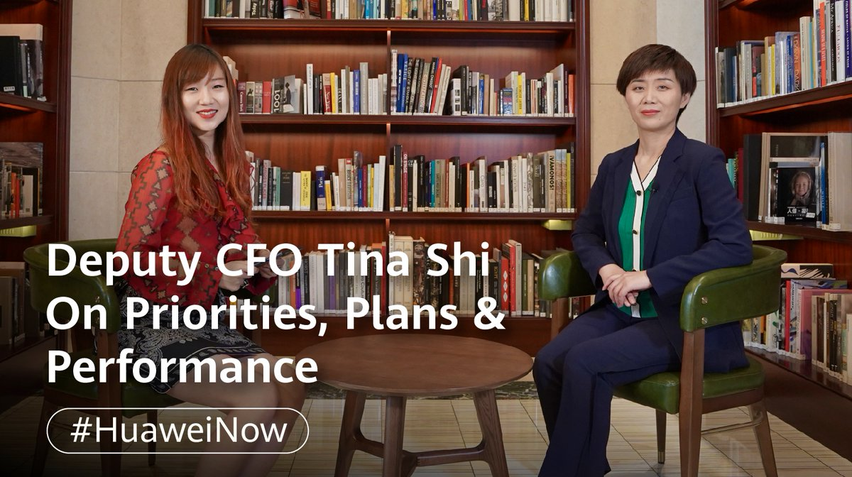Image for the Tweet beginning: Deputy CFO Tina Shi discusses