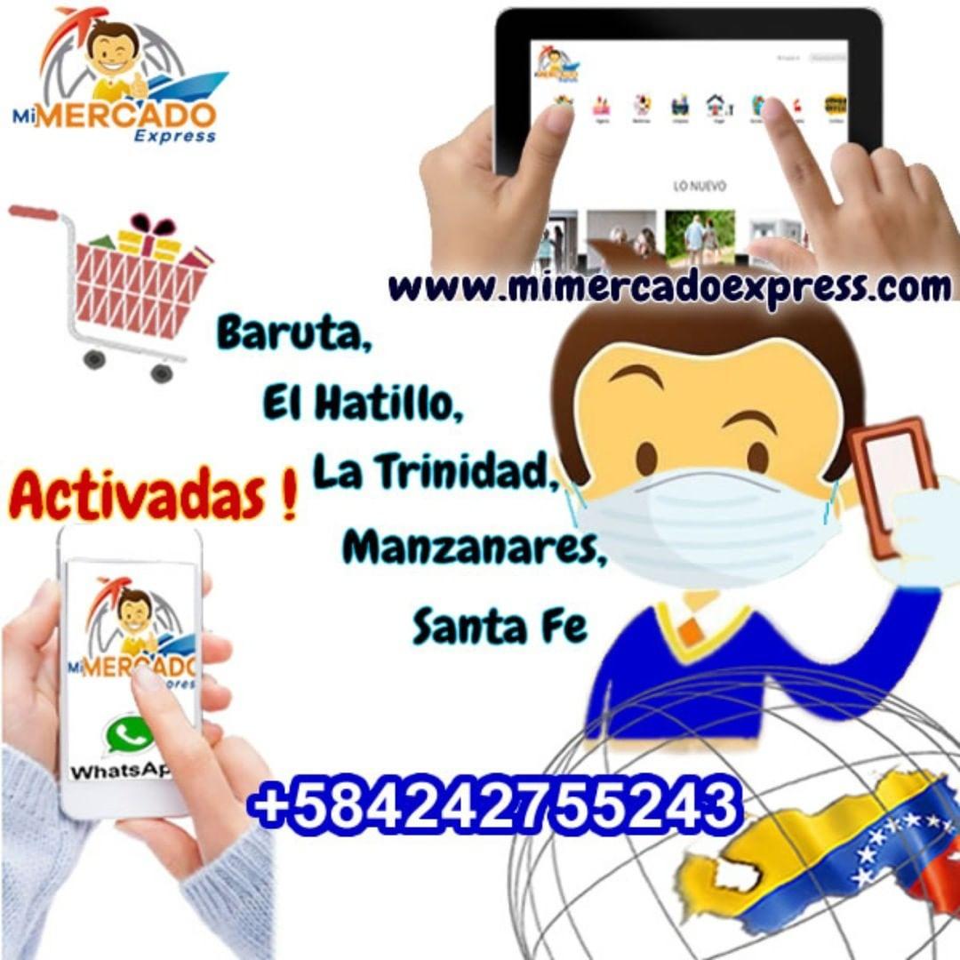 Se activaron las ventas de nuestros productos solo en estas zonas en Caracas, por las restricciones de la cuarentena. Comuniquese por el whatsapp en pantalla. #31Mar #FelizMartes #VenezolanosenUSA #venezolanosenelmundo #VenezolanosenChile #VenezuelaUnida #QuedateEnCasapic.twitter.com/WDojLdoCwx