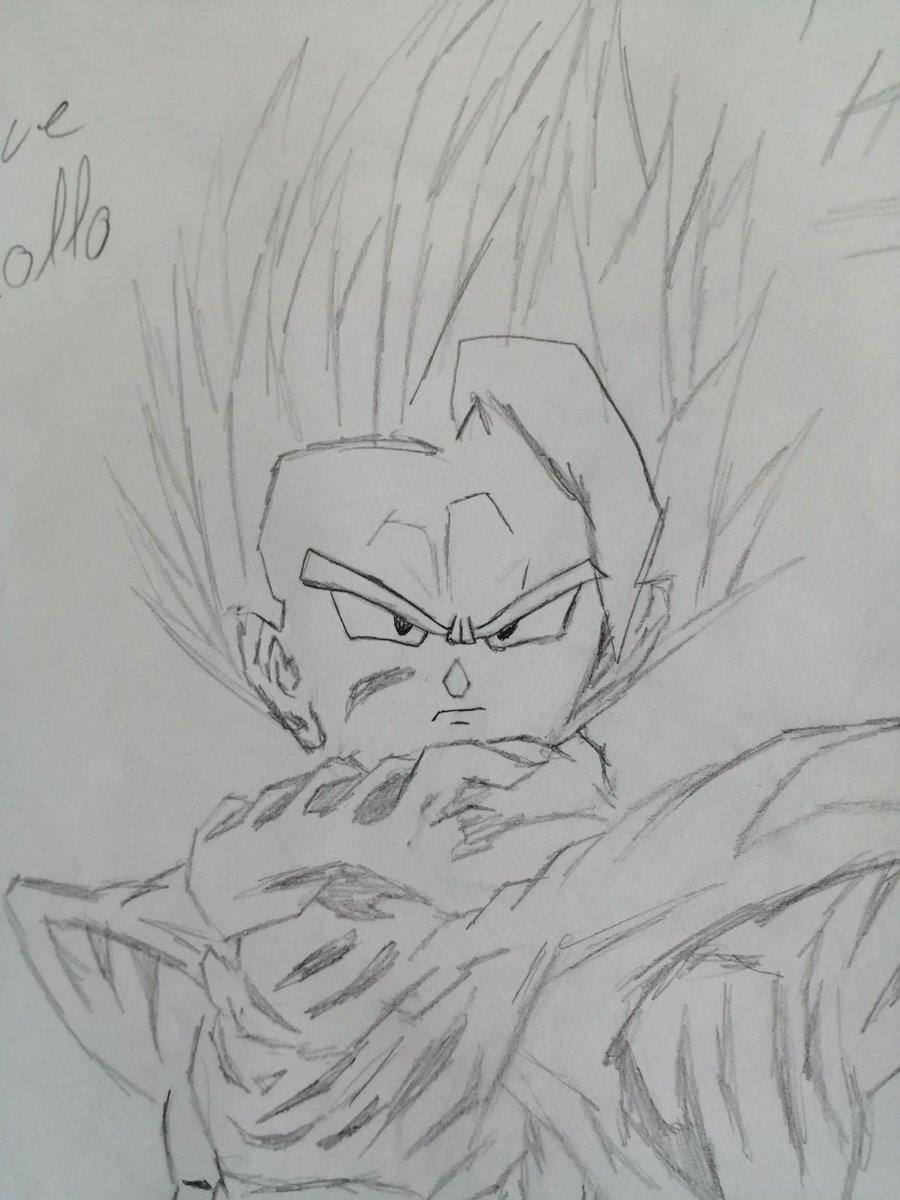 #DragonBall Vous en pensez quoi de mon dessin ? De songohan #dessinmanga pic.twitter.com/0bcV3MxxEl