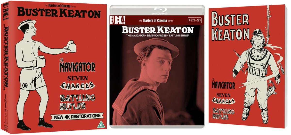 Out now from @Eurekavideo as part of @mastersofcinema BUSTER KEATON: 3 FILMS (Vol 2), here is my review of old stone face #BusterKeaton  @BusterKeatonSoc @BusterKeatonGif @BusterKeatonUK   https://nexttotheaisle.blogspot.com/2020/03/buster-keaton-3-films-volume-2.html…pic.twitter.com/XUF1ajeYy0
