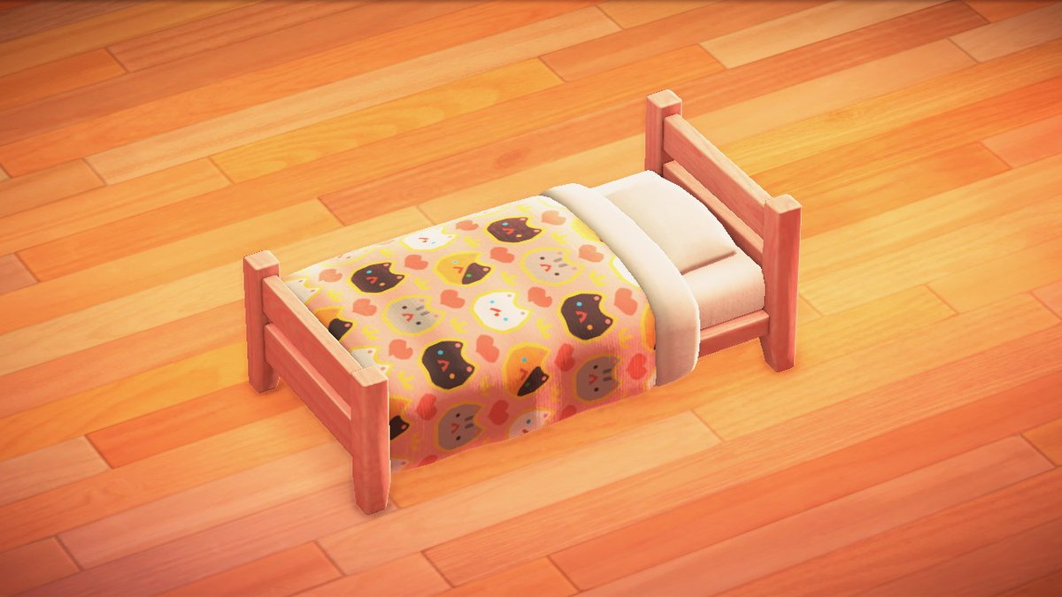 Animal Cwossing Tingz On Twitter Made A Cat Bed Sheet Took Quite A While To Get A Repeating Pattern Animalcrossing Acnh Nintendoswitch