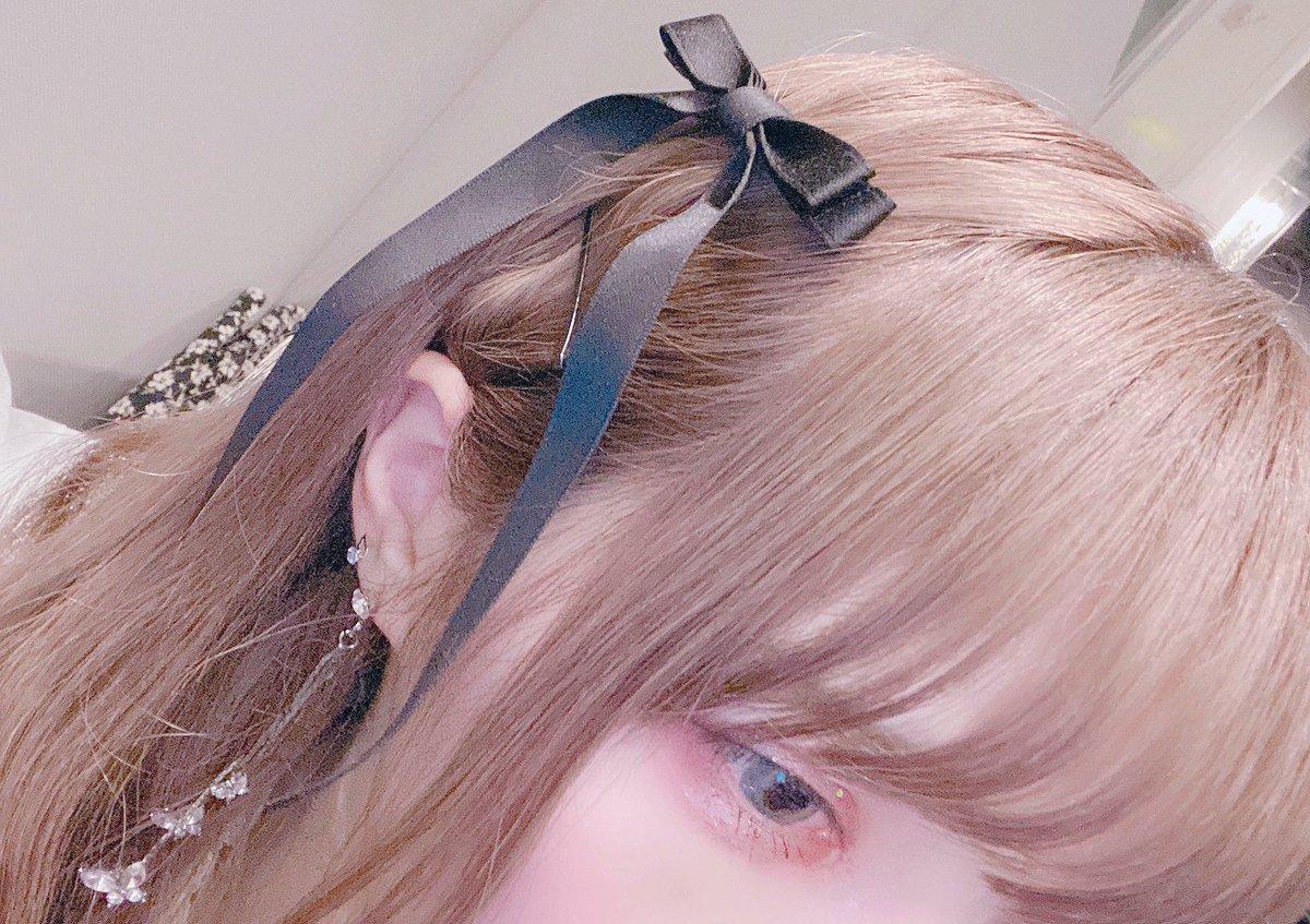 不器用なのでハーフツインが出来ないのですが みなさんがハーフツインだ!と言ってくれる髪型です