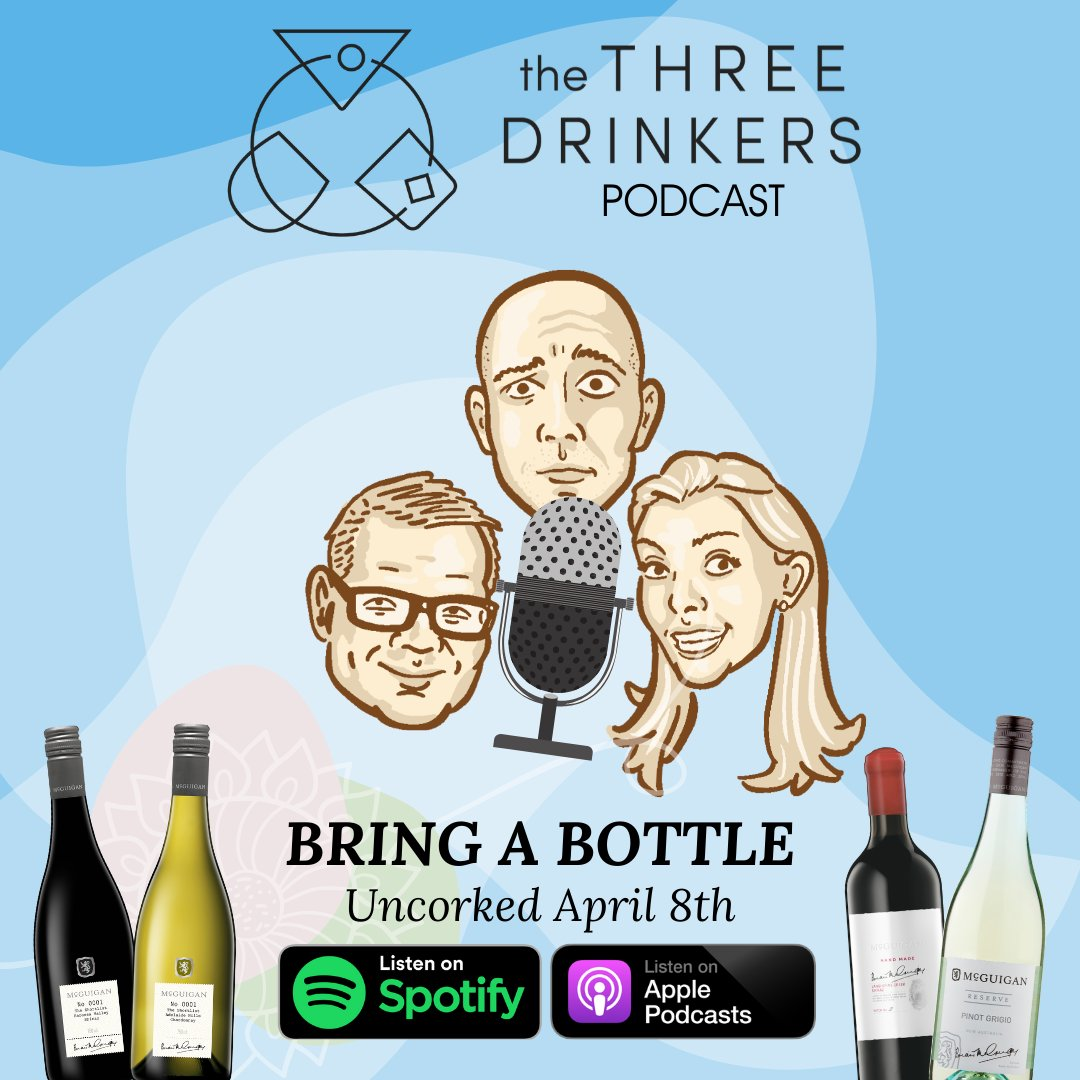 "I'm delighted to announce the launch of our brand-new #podcast, ""Bring A Bottle"". Arriving at a time when the world undoubtedly needs a good drink… it's available from April 8th on #Spotify, Apple Podcasts and more. Our remedy for the lockdown… Grab a glass, you deserve it! pic.twitter.com/gkIU3Wi6Gt"