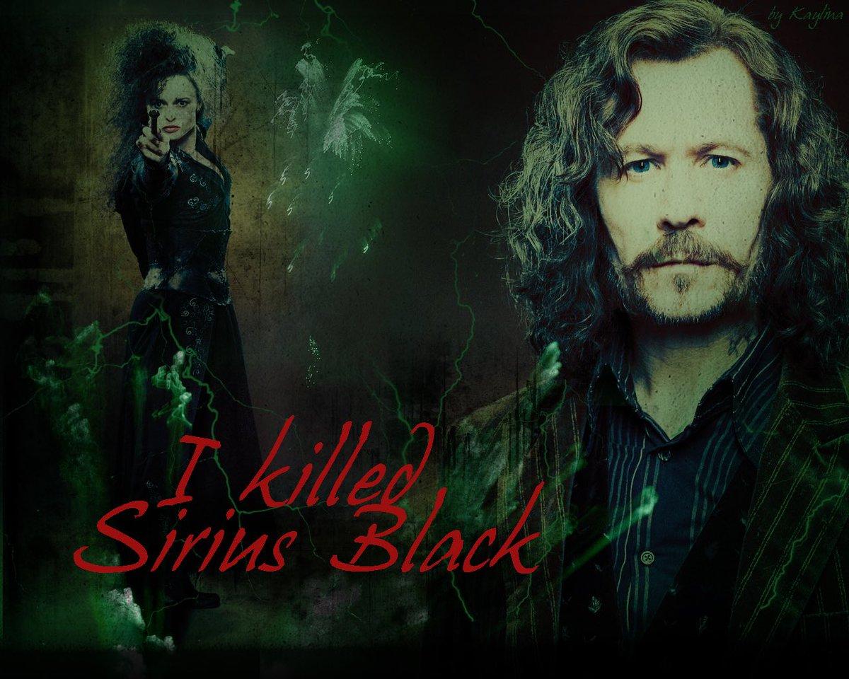 I Killed Sirius Black