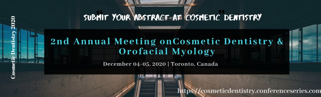 Submit your abstract at #cosmeticdentistry2020 #Toronto  #Canada #December04-05 #cosmeticdentistry #dentalcongress2020 #dentalevent #dentalsummit #dental  Visit: https://cosmeticdentistry.conferenceseries.com/ pic.twitter.com/XELT6gzkQB