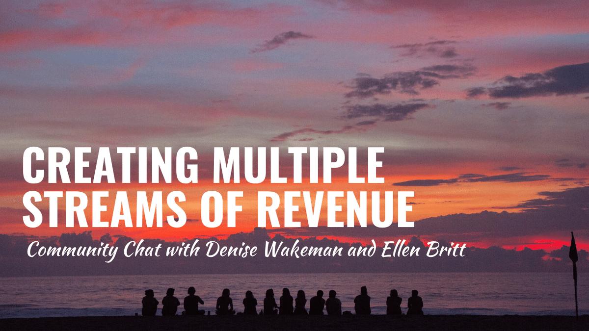 20 Simple Ways to Create Multiple Streams of Revenue [video + chat transcript] via @DeniseWakeman #passiverevenue #incomestreams https://denisewakeman.com/business-planning/20-simple-streams-of-revenue/… RT @DeniseWakemanpic.twitter.com/IbclZOPxr9
