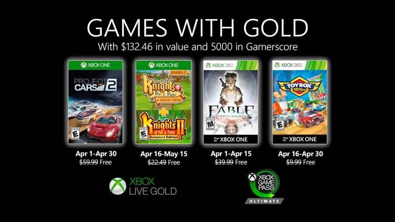 Αυτά είναι τα δωρεάν παιχνίδια για τον Απρίλιο σε Xbox Live Gold και Xbox Game Pass Ultimate  https://www.techgear.gr/ayta-einai-ta-dorean-paichnidia-gia-ton-aprilio-se-xbox-live-gold-kai-xbox-game-pass-ultimate-26805…pic.twitter.com/jJa8HzGWlk