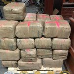 Image for the Tweet beginning: Agents seized 1,300 lbs #cocaine,