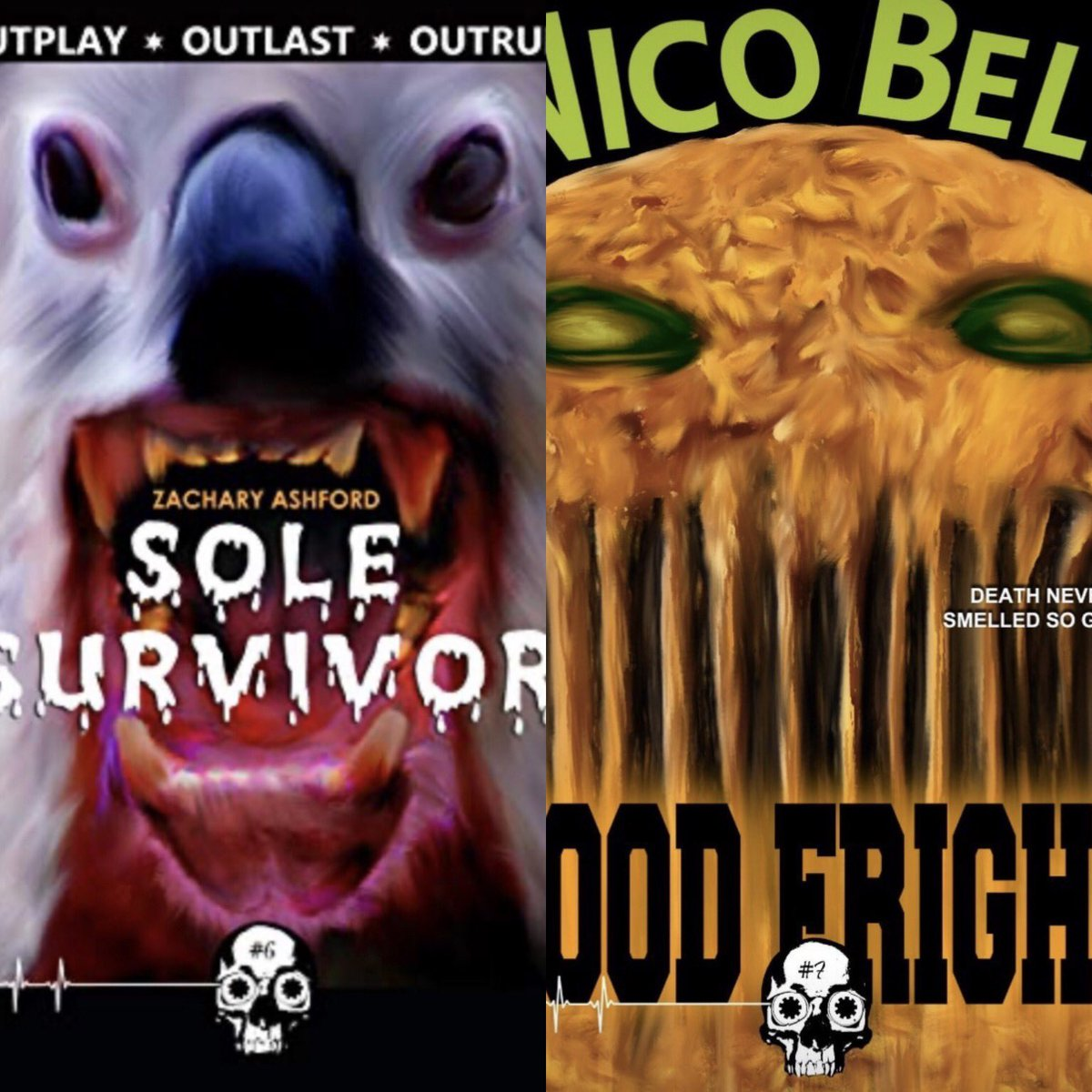 @GwendolynKiste The next two installments in the fantastic @UnnervingMag #RewindOrDie series came out this week: Food Fight by @nicobellfiction and Soul Survivor by @ashford_zachary