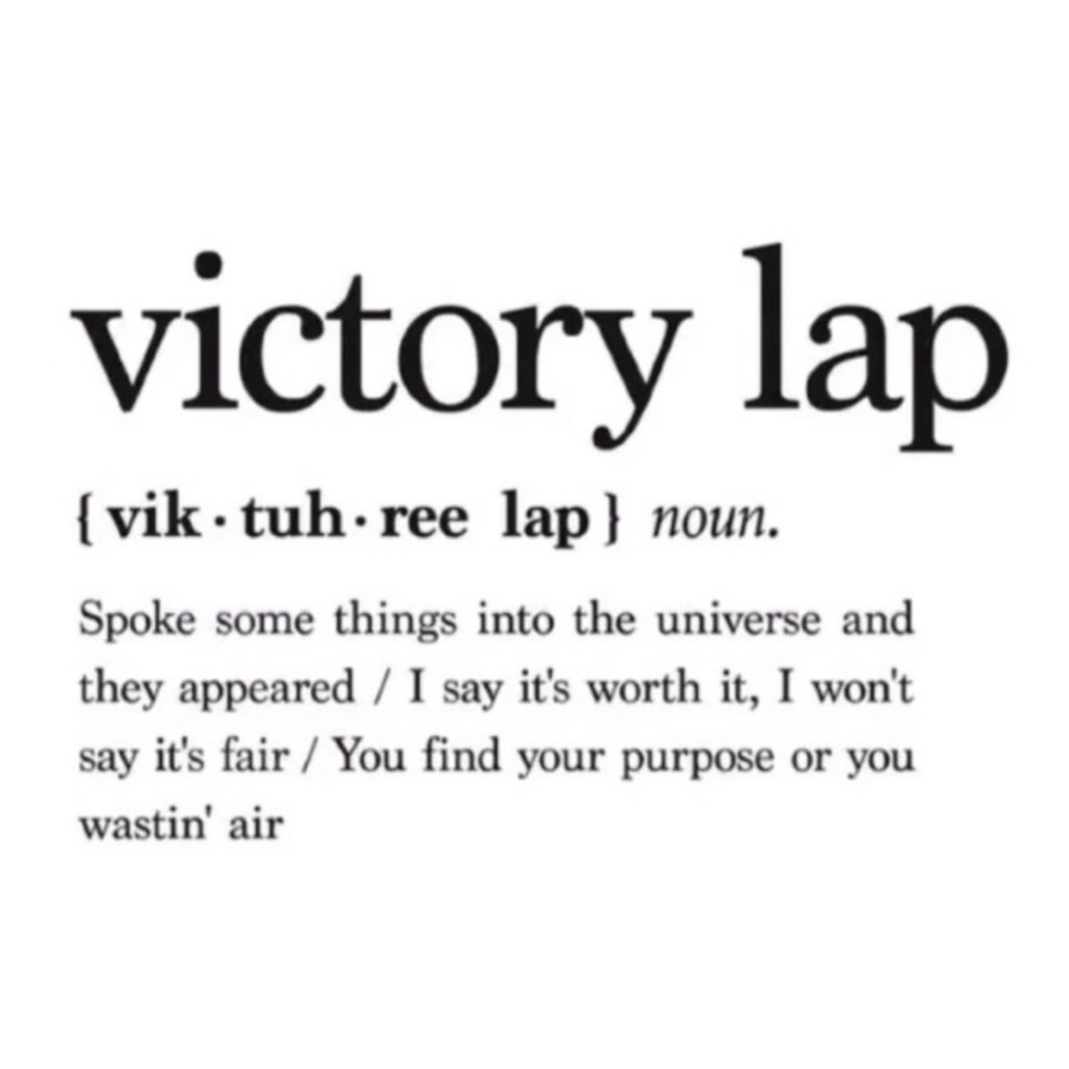 @DatPiff's photo on Victory Lap