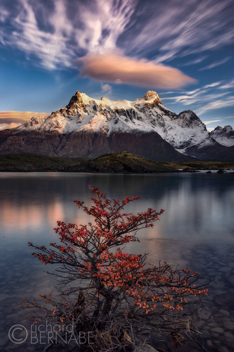 """Paragon"" Paine Grande and Lago Nordenskjöld at sunrise in Torres del Paine National Park, Chile #photography   *Vertical* Open the image in its entirety pic.twitter.com/UqbhzQxrMH"