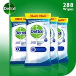 Image for the Tweet beginning: Dettol Wipes Biodegradable Antibacterial Multi