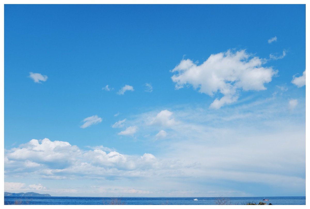 やっと仕事終了しました  1日でも早く晴れ渡る青空が世界中に  広がりますように  #fujifilm #fujifilm_xseries #x100f #海  #空 #やっぱり海は #晴れ渡る #青空  #家族 #家族の思い出 #願いを込めてpic.twitter.com/I3ueaMhqsK