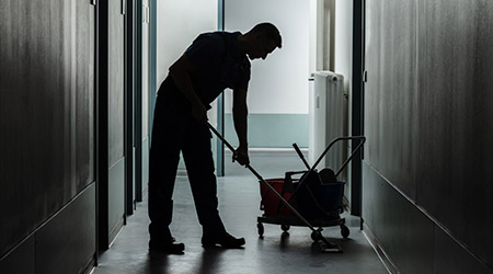 It's necessary to recognize the importance of the work frontline cleaning staff do now more than ever. https://t.co/Wp1MUIlhbs https://t.co/sZJwqBGUem