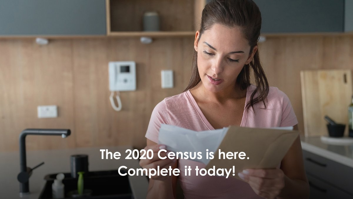You can complete the #2020Census online, by phone, or by mail. 2020census.gov/?cid=23680:16x…