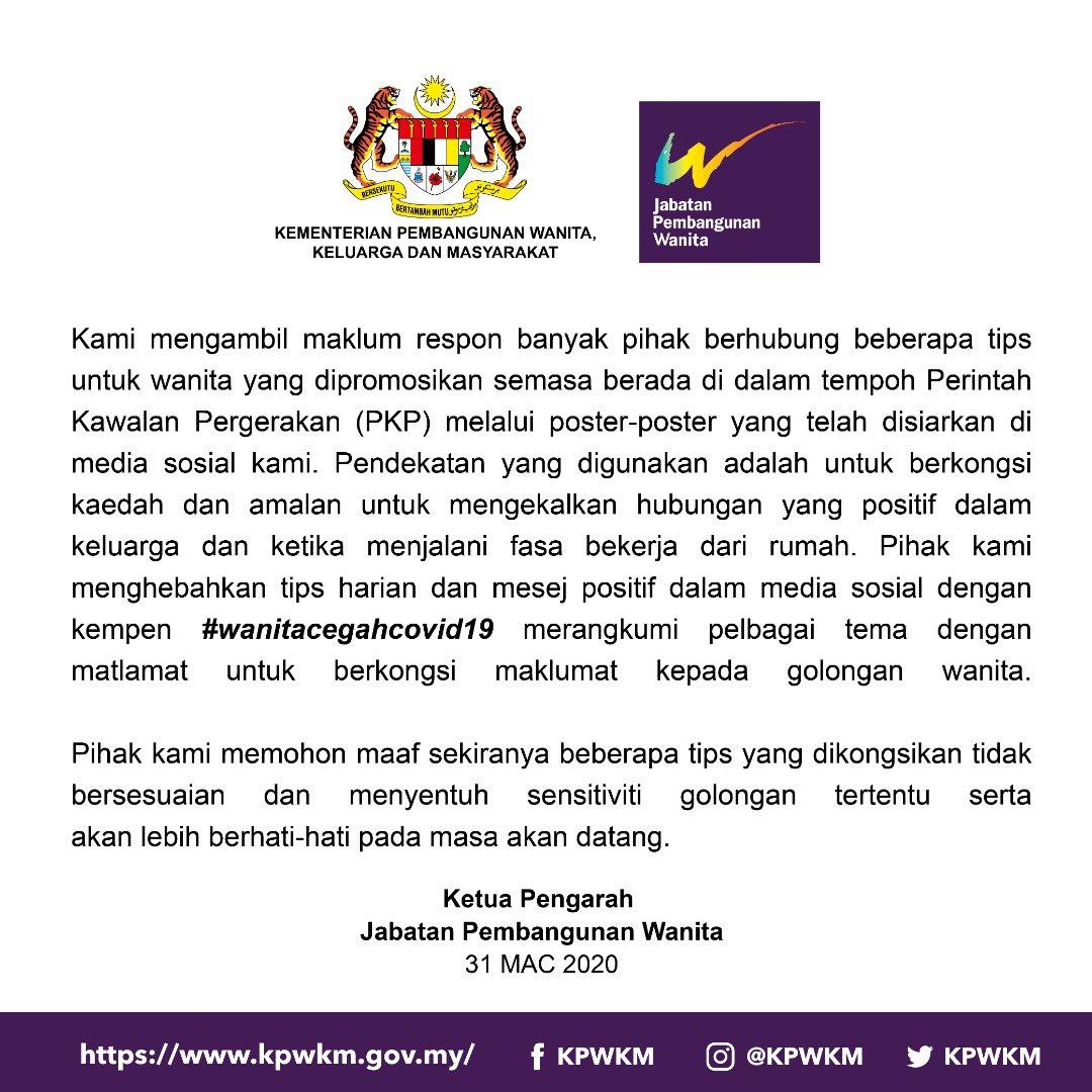 Malaysia's Women's Affairs Ministry Makes International Headlines ...