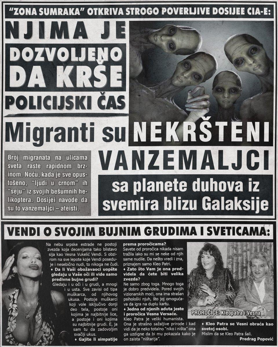 Migranti su nekršteni vanzemaljci, Vendi o svojim bujnim grudima