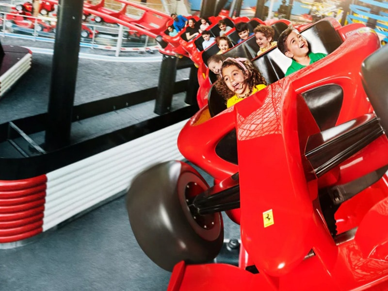 Take a look at the brand-new Family Zone inside Ferrari World Theme Park, in Abu Dhabi, complete with four state-of-the-art attractions, designed exclusively  for younger guest, by Zamperla group.  Link: https://t.co/C8lb3vUDRl  #zamperla #zamperlarides #amusementpark https://t.co/aCjZMfogOz