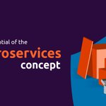 Image for the Tweet beginning: The potential of the #microservice