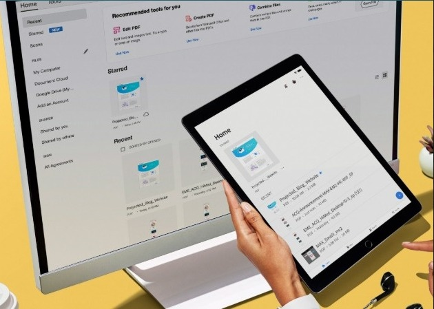 Facilidade, praticidade e comodidade, você encontra tudo isso na Document Cloud: https://adobe.ly/2WPK4Wl