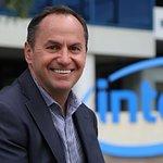 Image for the Tweet beginning: Intel CEO Bob Swan's annual