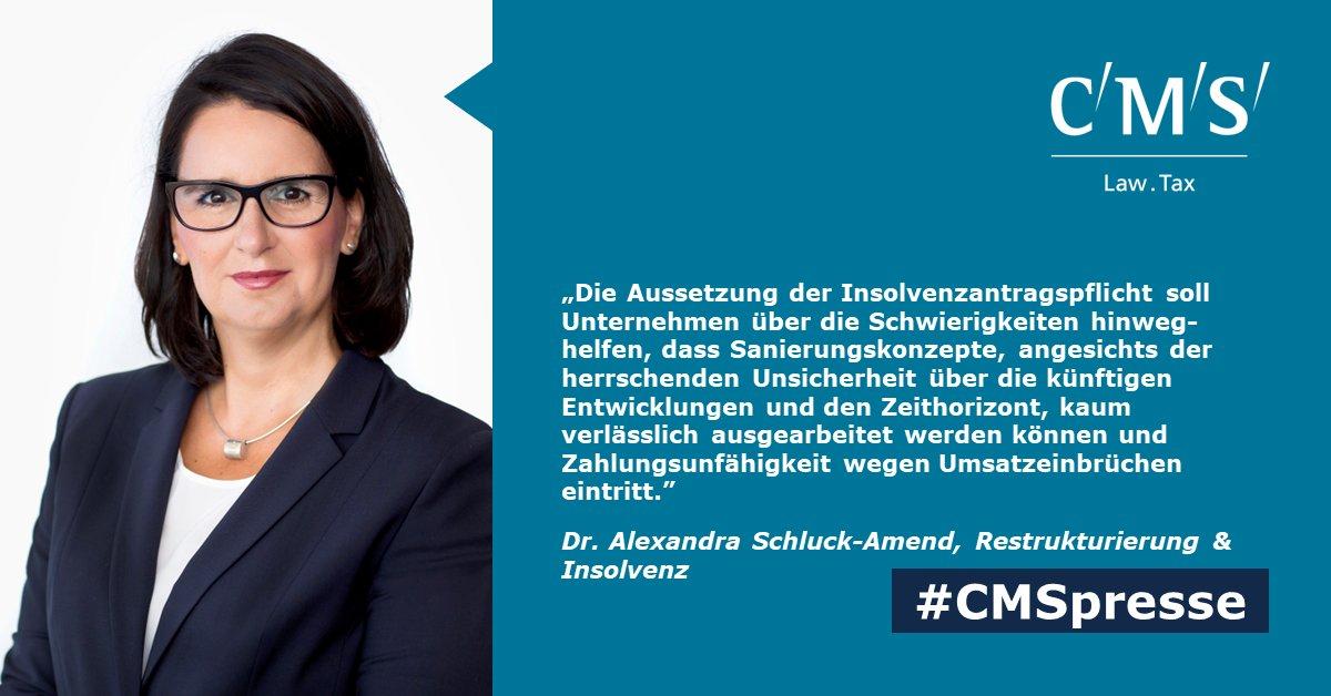 test Twitter Media - SPRINGER PROFESSIONAL: Am 27.03.2020 wurde das Corona-Insolvenz-Aussetzungsgesetz (#CorInsAG) verabschiedet. Die Insolvenzantragspflicht wird bis 30.09.2020 ausgesetzt. Dazu unsere RAin & Partnerin Dr. Alexandra Schluck-Amend @SP__Management https://t.co/1APFxSzIcE #CMSpresse https://t.co/MtK7jgBth3