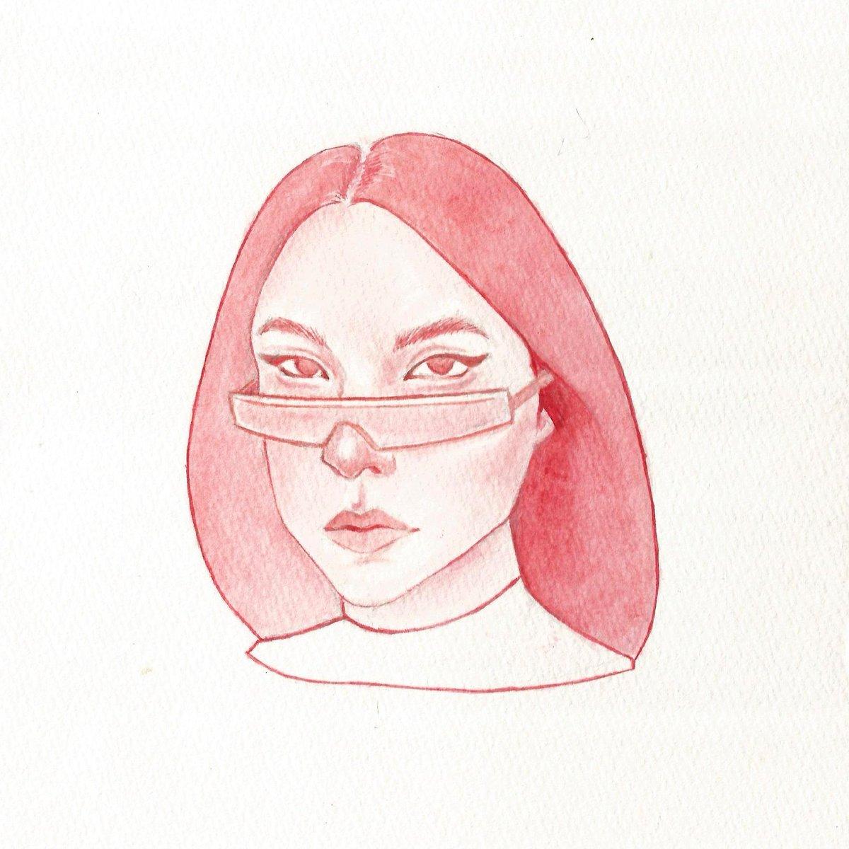 I drew my queen Yumi Nootenboom  #watercolorpainting #portraits #yuminootenboompic.twitter.com/8nrnLTGa0n
