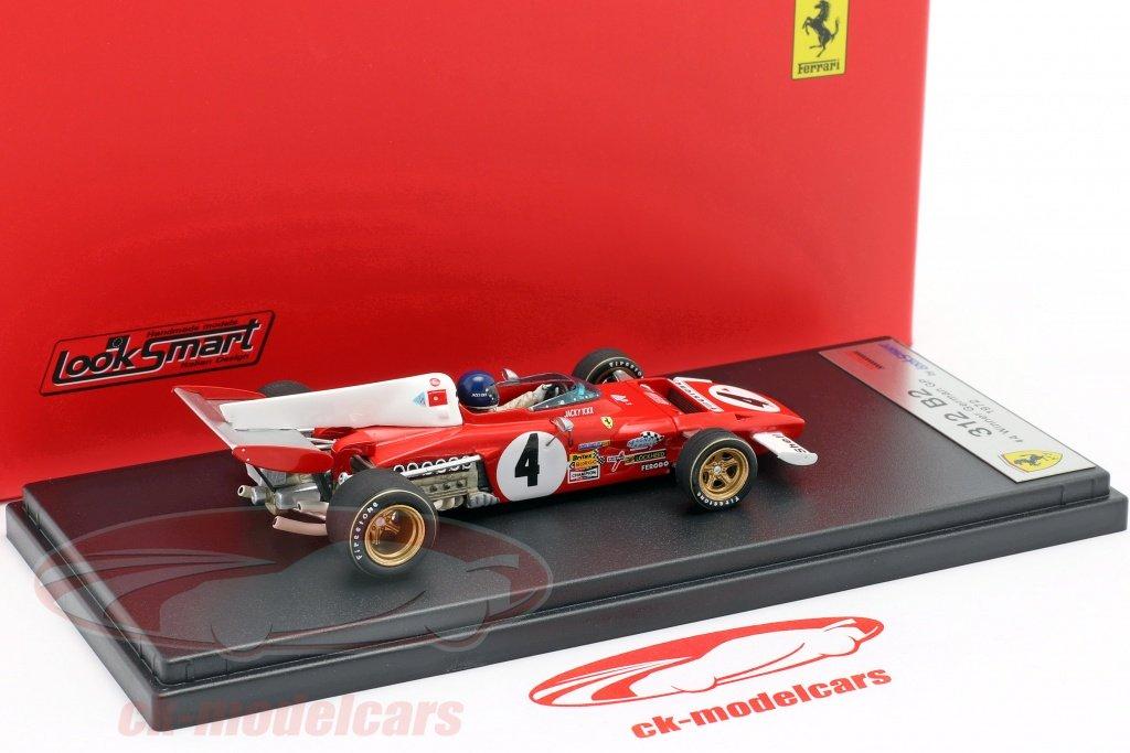Vier neue #Modellautos / four new #modelcars scale 1:43 #miniatures by #LookSmart: #ScuderiaFerrari #Ferrari 312B2 #F1 1972 #Ickx #GermanGP / #Regazzoni #ArgentinaGP / #Andretti #SouthAfricanGP / #Galli #FrenchGP check out https://ck-modelcars.de/de/l/t-suche/a-18/?s=Ferrari+312B2+1%3A43… 👍👍👍👍👍