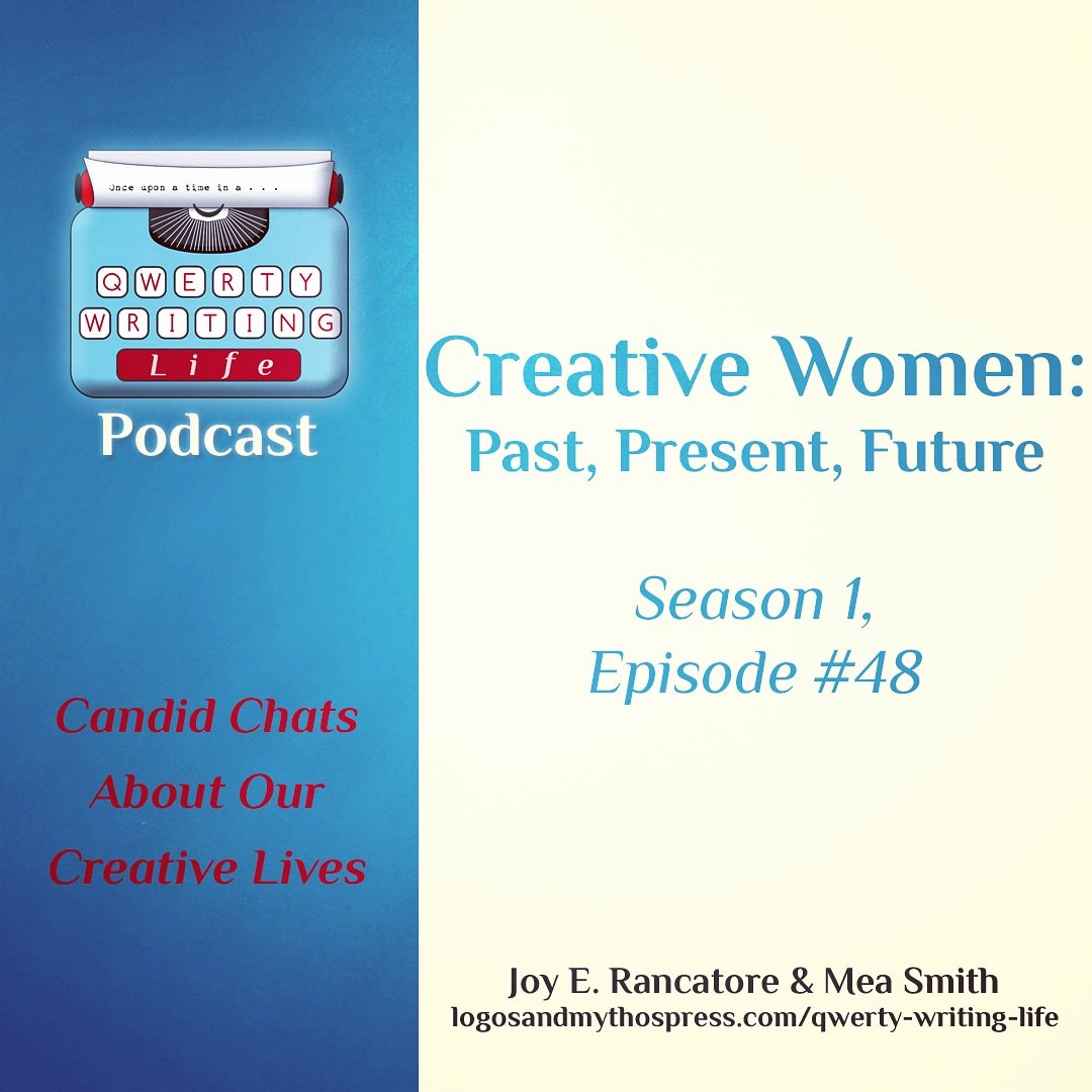 Creative women inspire. With this truth in mind, Joy and Mea share tales of courage and strength among women from history and today.  Links to listen or watch can be found here: https://www.logosandmythospress.com/qwerty-writing-life …  #QWERTYpodcast #creativewomen #womenshistorymonthpic.twitter.com/5WQvwzNoAQ