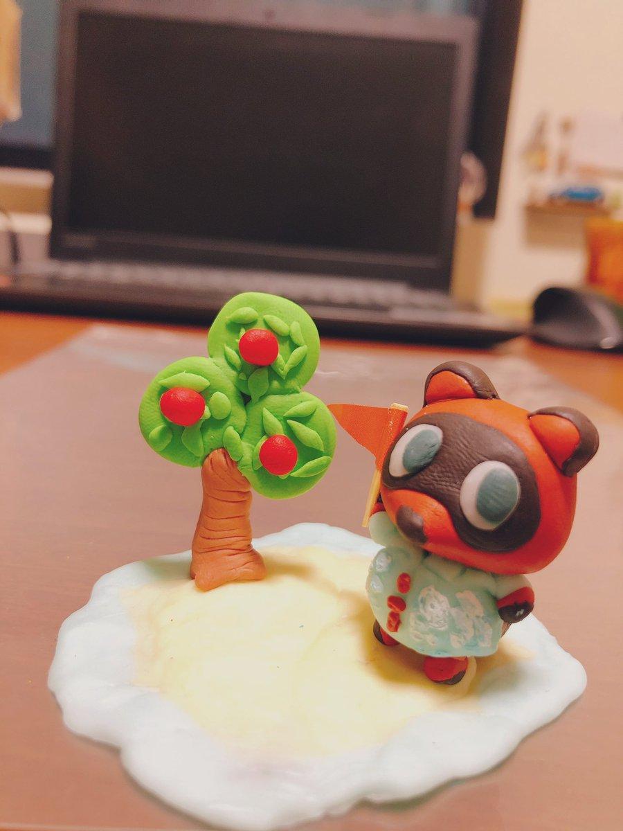 の ねんど おもちゃ 森 あつ