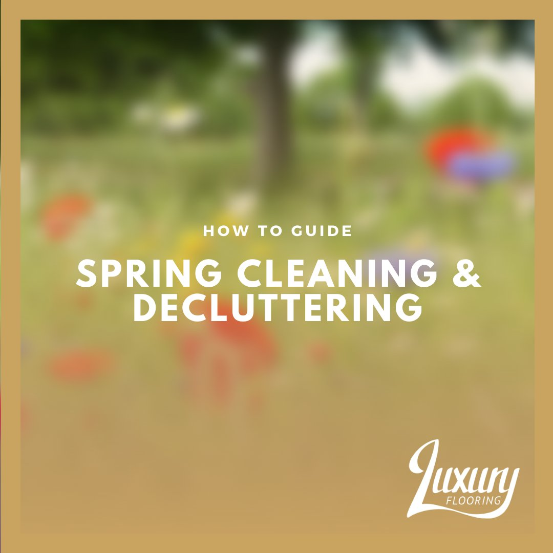 Spring has finally arrived! It's time to get your home in order and remove the dirt and deadness of Winter.   Read our blog for some tips on how to spring clean and declutter your home! http://bit.ly/393GYAm  #luxuryflooring #flooringadvice #interiorideas #homeblogpic.twitter.com/pOL83ZGt8c