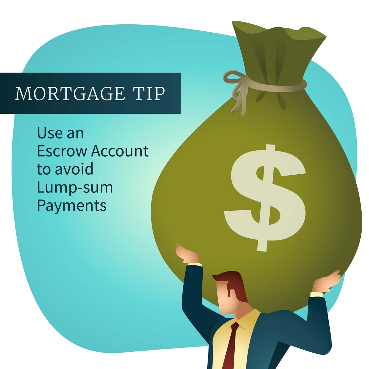Would you rather spread out your property tax-bill payments or make one lump-sum payment? If the first is more appealing, an escrow account is right for you. For more tips, give us a ring. We make mortgages easy! pic.twitter.com/M9YLdQJTMl