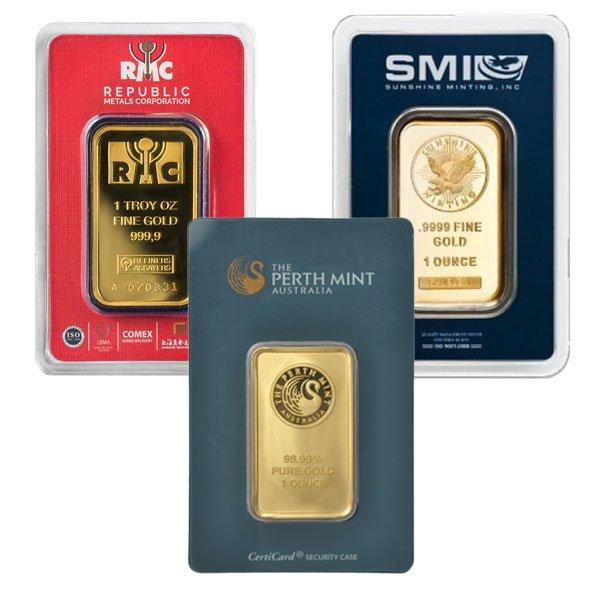 1 Oz Gold Bar Price