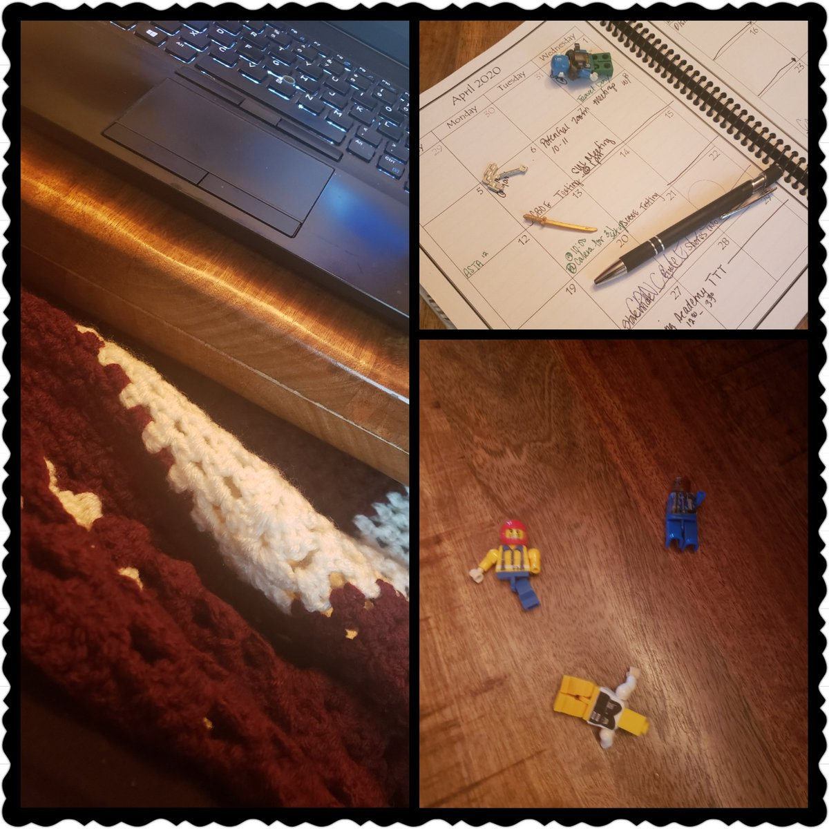 Remote working does have it's perks! Thanks mom for the handmade afghan! And the lego break brought to you by my kindergartener!  #marbrysmadscientists #remotelearning #GROWwiththeflow #humbledbythegiftpic.twitter.com/1yMIF894Rf