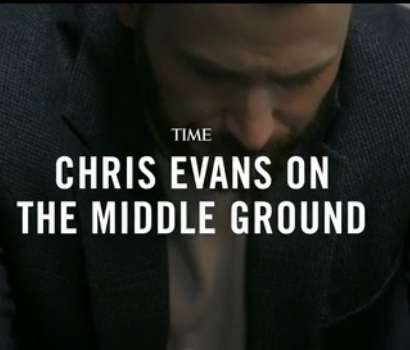 It was an extremely proud moment.  #ChrisEvans #AStartingPoint #Time pic.twitter.com/hFzDaRe8Tz