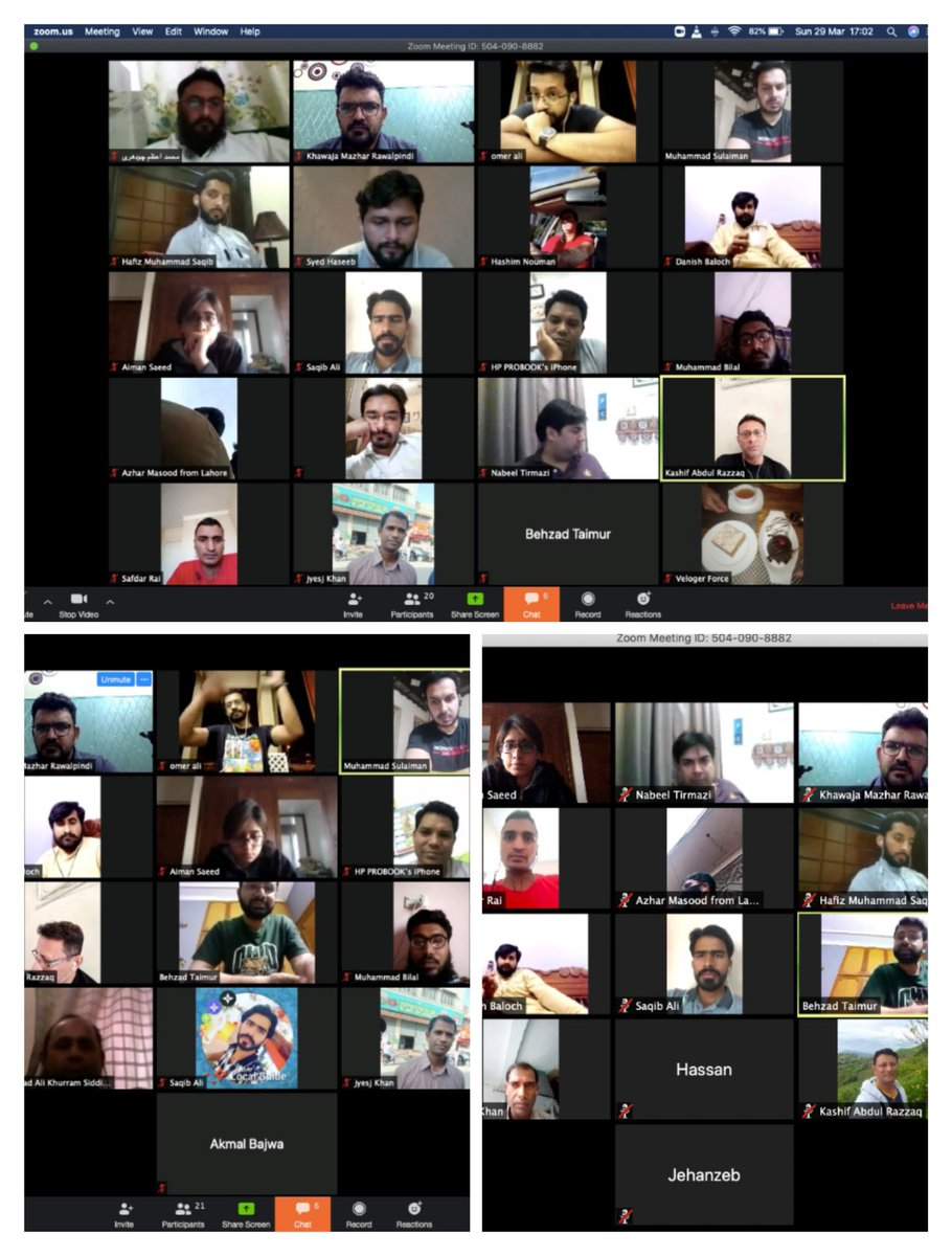 1st Virtual Meetup Of LGs From Pakistan. Amazing time for all of us to learn great tips to improve Contributions on #googlemaps and #localguidesconnect with 38 fantastic LGC. Thanks @JumpingTraci for your tutorial article on LGC it was so helpful for us.  #letsguide #localguidespic.twitter.com/8I2t0zYAB6