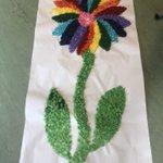 Image for the Tweet beginning: @GreenacreSchool  arty activities to