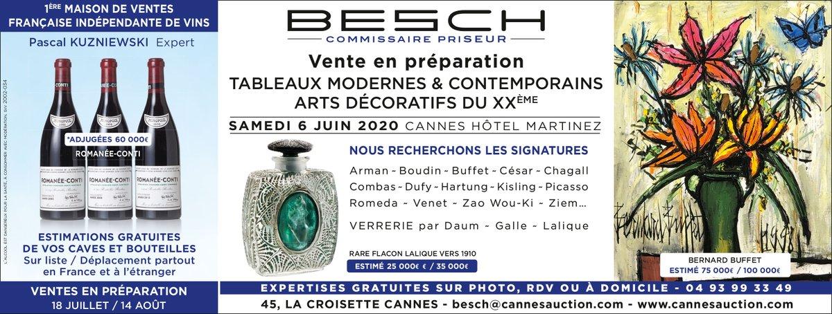 Vente en préparation - #Cannes - Expertises gratuites par mail sur photo, toutes catégories...de chez nous. #encheres #auction #estimation #gratuit #expertise #RestezChezVouspic.twitter.com/SJE5AAfKOO