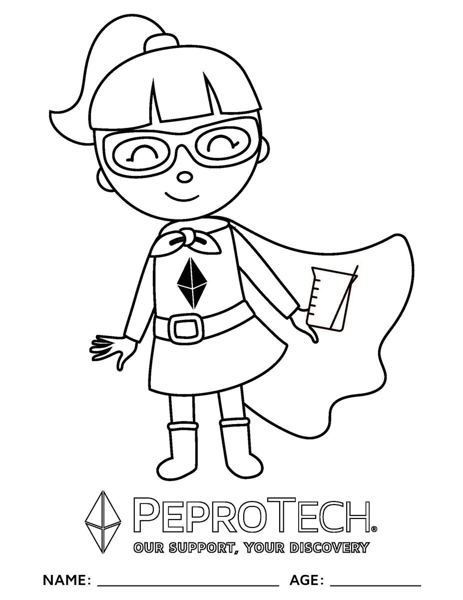 Peprotech On Twitter Introducing Peprotech Superhero Coloring Pages We Have Created Some Coloring Pages To Keep Peprokids Busy To Save The File Right Click And Save Image As Once Colored Snap A