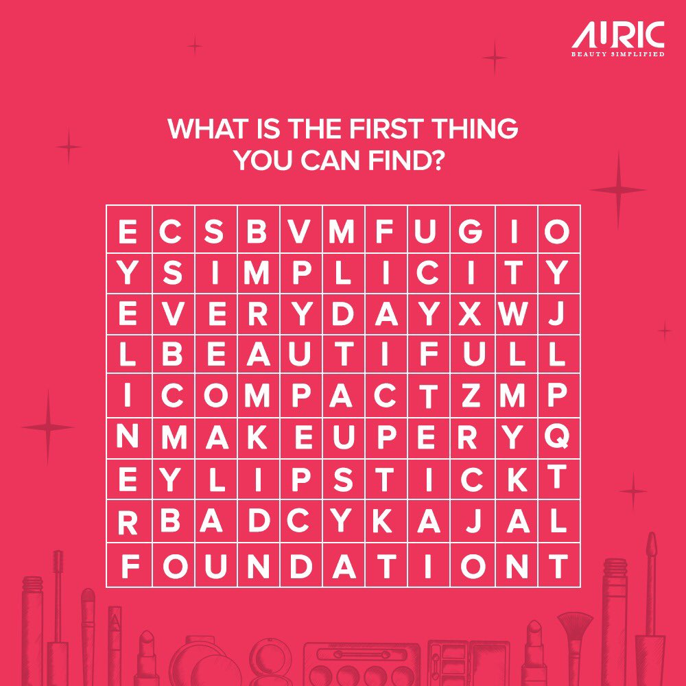 Kill some quarantine-time with this fun word search. Let us know the words you find in the comments below  #crossword #game #instagame #workformhome #wfh #stayhome #staysafe #Auricpic.twitter.com/y6SUrDYJTt
