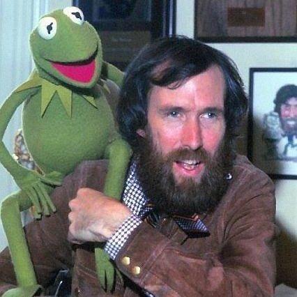 Kermit and Jim, 1977. 💚